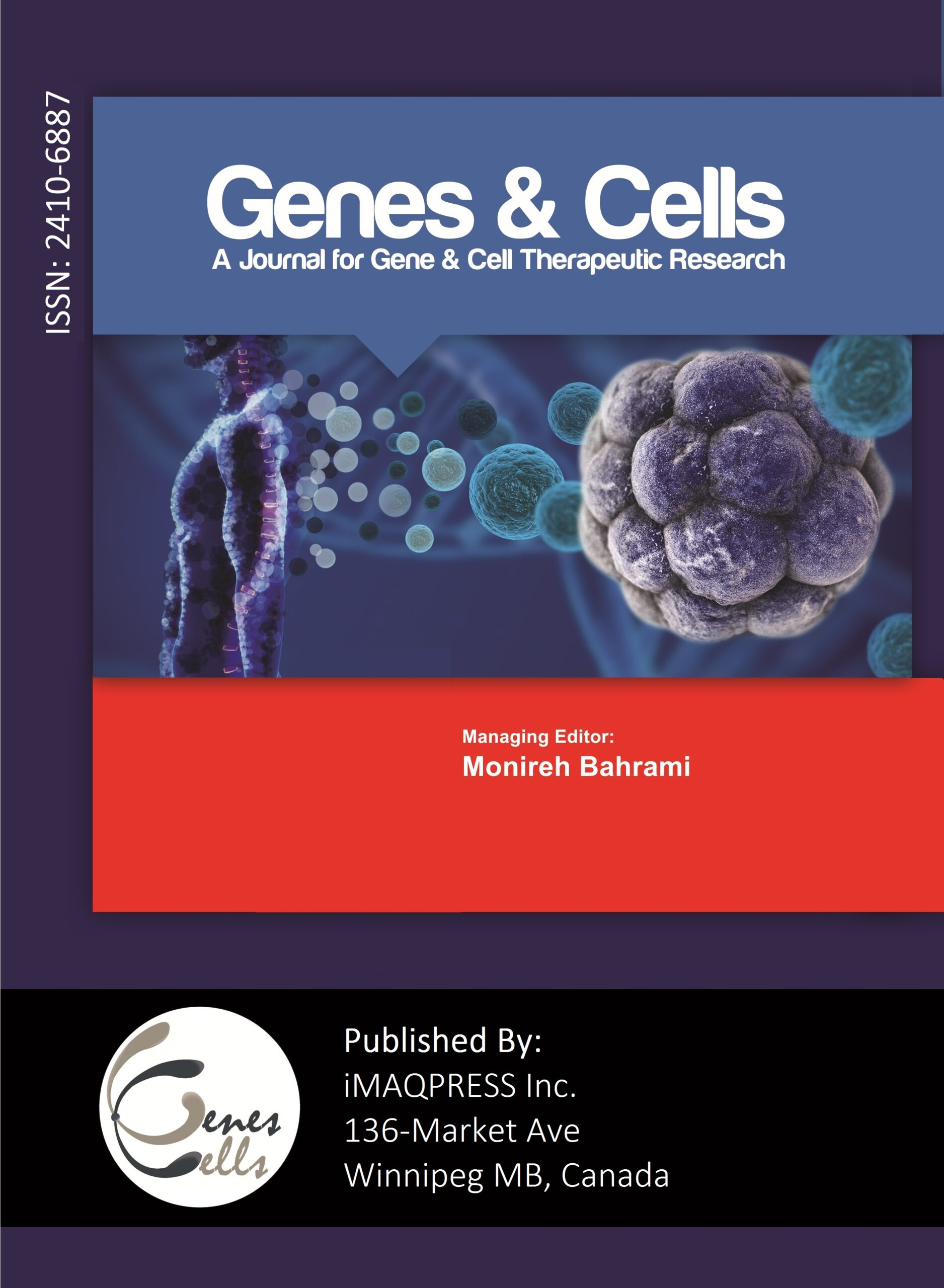 Journal of Genes and Cells Cover